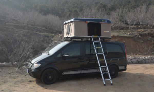 Фото автомобильной палатки ROOFCAMP VICTORY